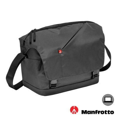 MANFROTTO 曼富圖 NX Messenger V2 開拓者側背相機包 (公司貨) 郵差包 MB NX-M-IGY-2 / NX-M-IBU-2