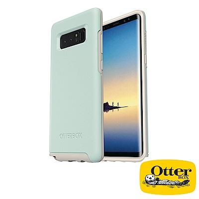 OtterBox Galaxy Note8炫彩幾何系列保護殼-文青綠