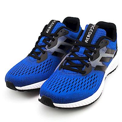 ADIDAS AEROBOUNCE M 男慢跑鞋 CG4654 藍