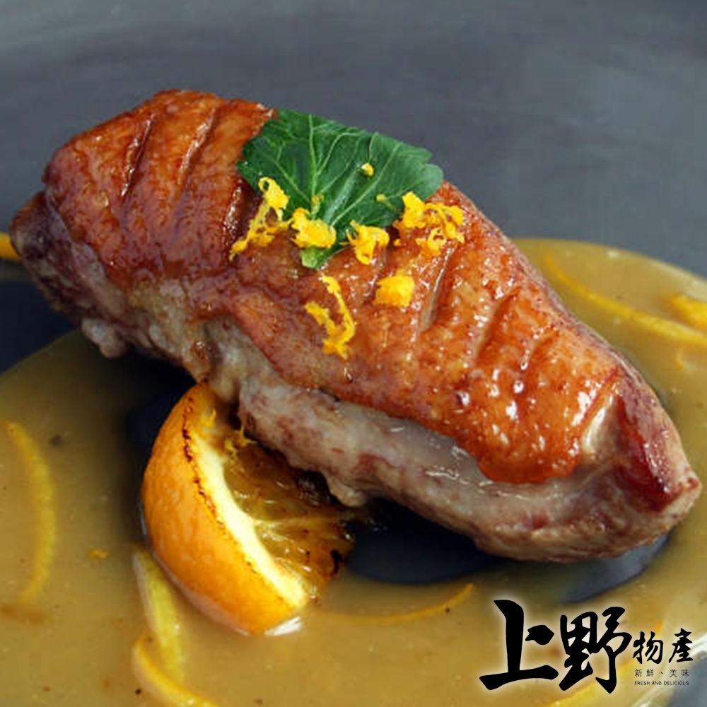 【上野物產】宜蘭名產櫻桃鴨胸肉( 200g土10%/片 ) x4片