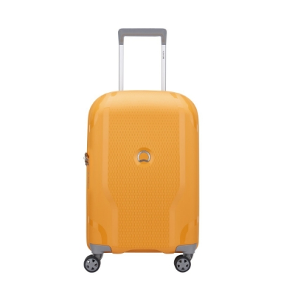 【DELSEY】CLAVEL-19吋旅行箱-黃色 00384580105