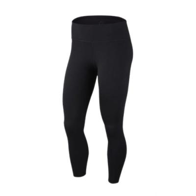 Nike 緊身褲 One Luxe 7/8 Tight 女款  內搭褲 健身 重訓 路跑 快乾排汗 黑 BQ9995010