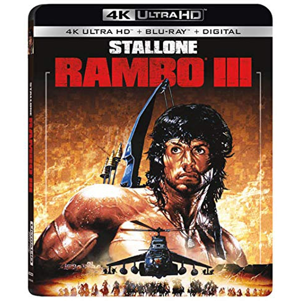 第一滴血 III Rambo First Blood III 4K UHD+BD 雙碟限定版