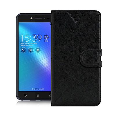 NISDA for ZenFone Live ZB501KL 風格磨砂側翻皮套