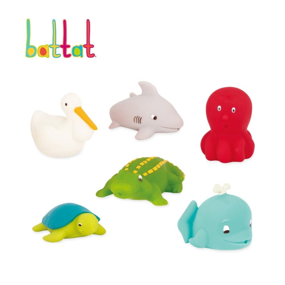 美國【battat】洗澡玩具-海洋(霓虹)
