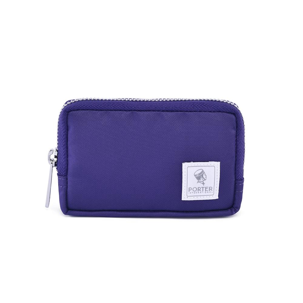 PORTER - 經典氣度MA-1+實用零錢包 - 紫