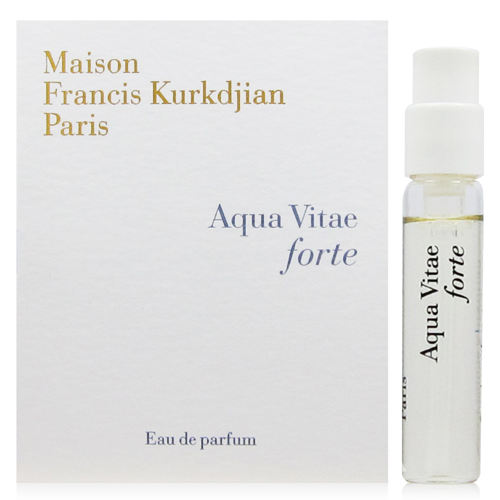 MFK Aqua Vitae forte 生命之水淡香精 針管 2ml