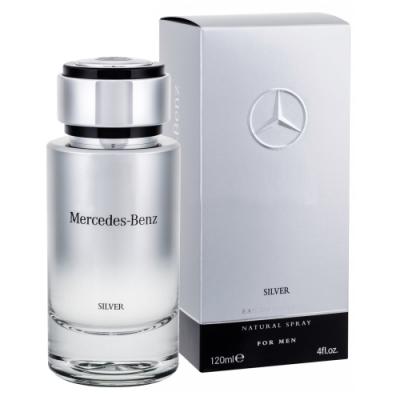 *Mercedes-Benz Silver 2017 銀輝幻羽男性淡香水120ml