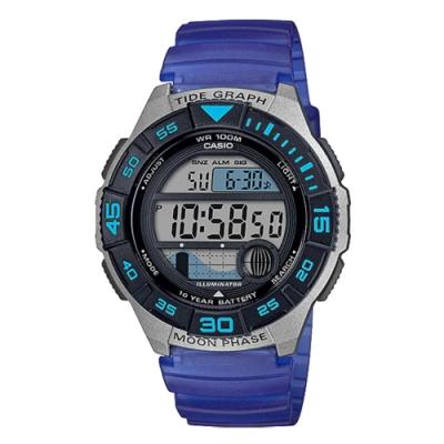 CASIO 活力青春運動腕錶(WS-1100H-2AVDF)寶藍/40mm
