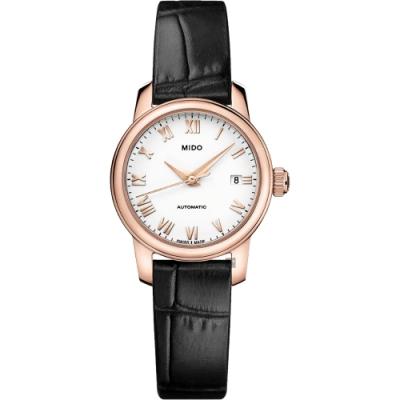 MIDO 美度 Baroncelli 羅馬機械女錶-25mm  M0390073601300