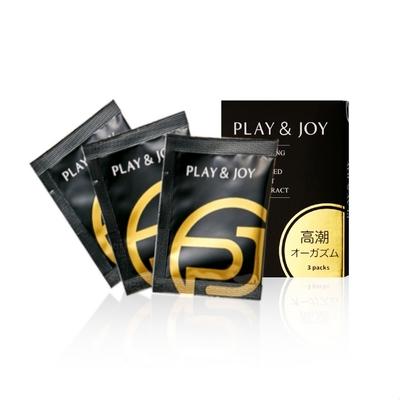 play & joy 瑪卡熱感激性潤滑液隨身盒﹝3g x 3包裝﹞