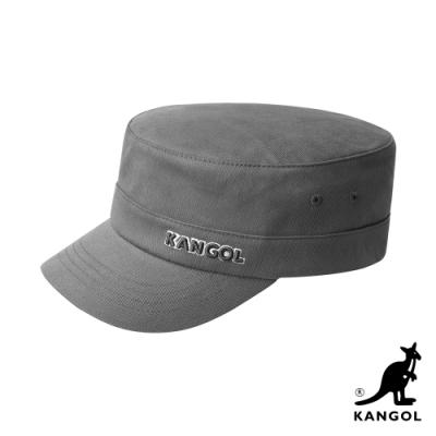 KANGOL-COTTON TWILL 軍用帽-淺灰色