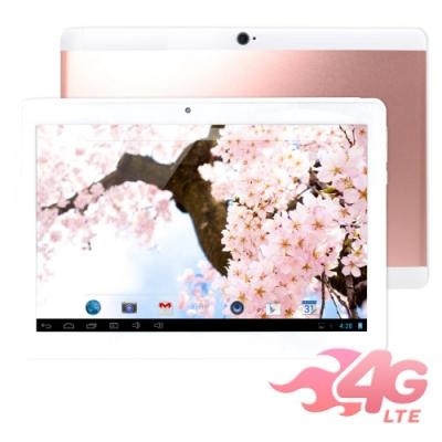 IS愛思 奇蹟覺醒 玫瑰金 10.1吋極速八核心4G LTE通話平板電腦 (4G/32G)