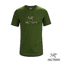 Arcteryx 始祖鳥 24系列 男 ArcWord 有機棉 短袖休閒Tee 叢林綠