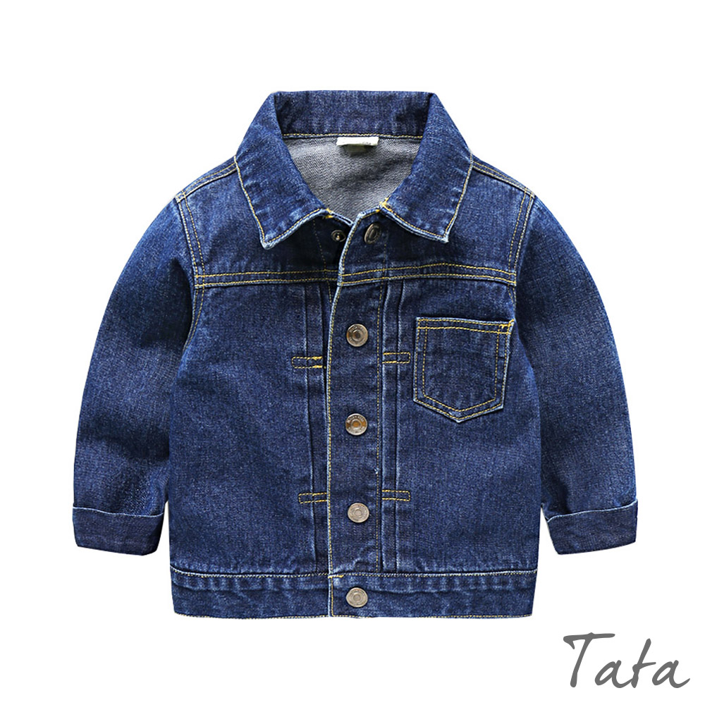 兒童 時尚牛仔外套 共二色 TATA KIDS