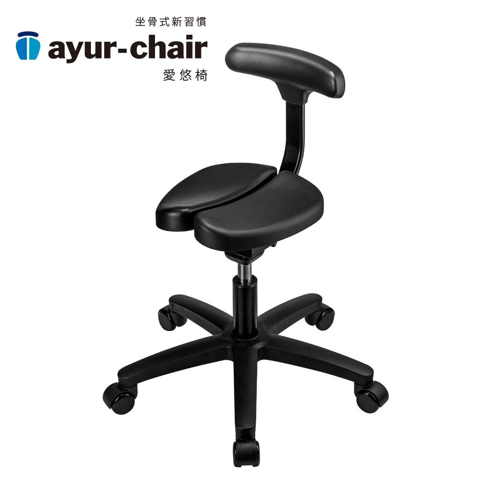 愛悠椅 Ayur-chair 基本腳輪款_黑(701010004)