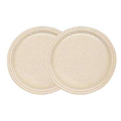 LE CREUSET 瓷器圓盤 27cm- 2入(星空白)