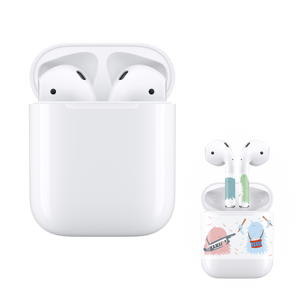 Apple AirPods 藍芽耳機二代 搭配有線充電盒 (MV7N2TA/A)