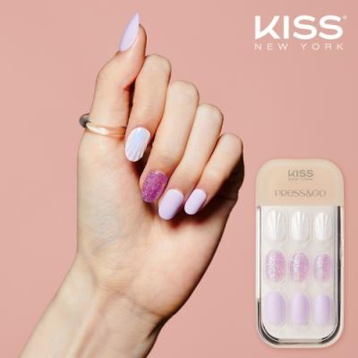 KISS New York-Press&Go頂級光療指甲貼片(珍珠美人魚 KPN14K)
