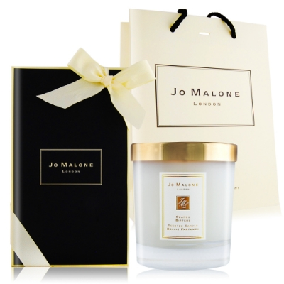 Jo Malone 苦橙旅行香氛工藝蠟燭200g[含外盒+緞帶+提袋]