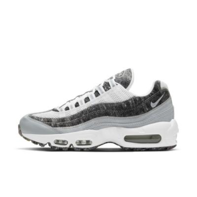 Nike Air Max 95 SE 女休閒鞋-米白銀-CV8830400