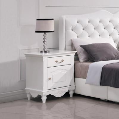 Boden-黛絲1.7尺法式歐風床頭櫃/一抽一門收納櫃/置物櫃-50x43x61cm