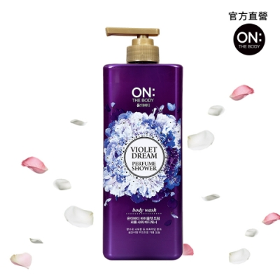 ON THE BODY 夢幻紫蘿蘭香水沐浴精 900g