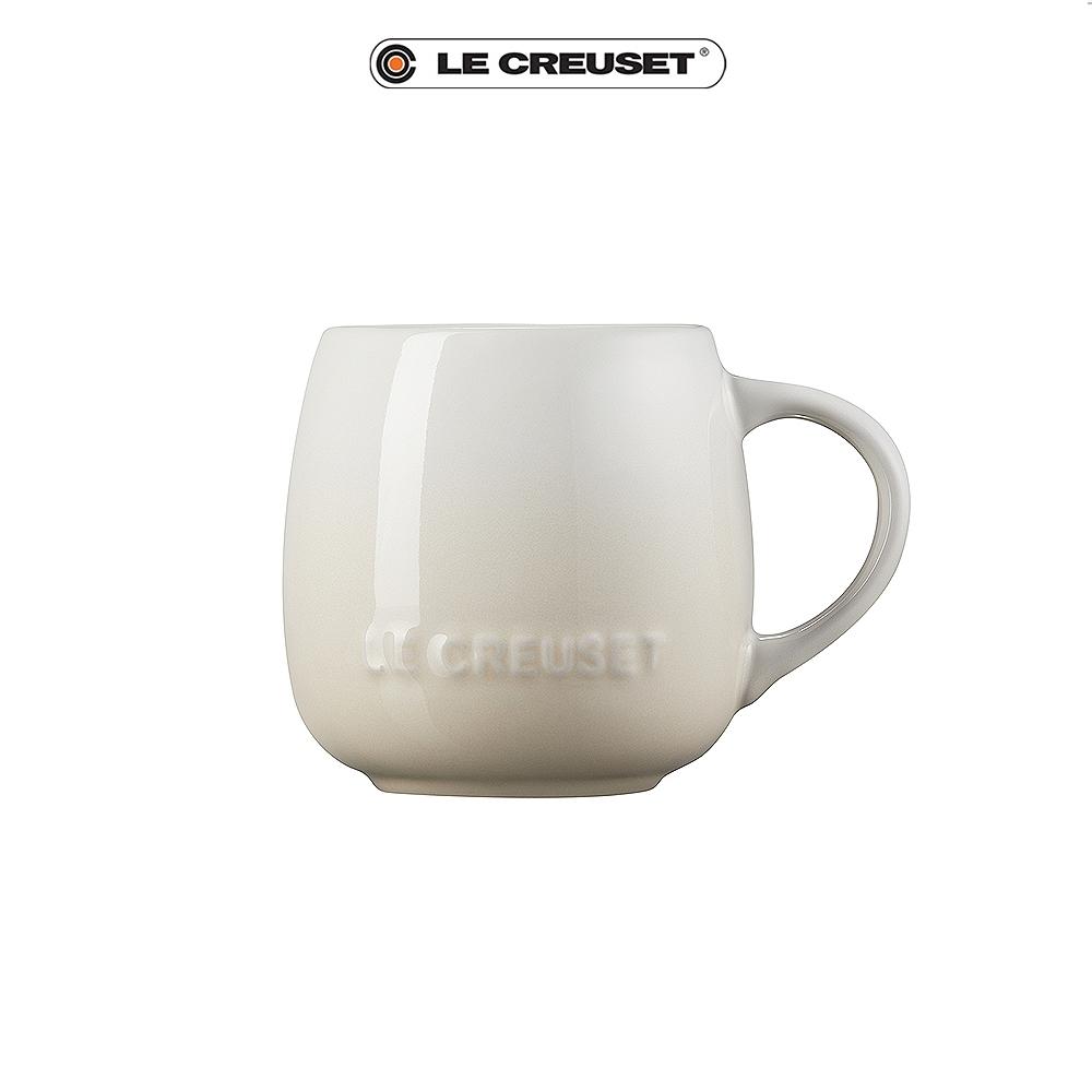 [任4件6折] LE CREUSET 瓷器花蕾系列馬克杯320ml-蛋白霜