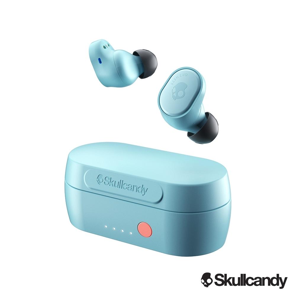 Skullcandy 骷髏糖 SESH EVO 真無線 藍牙耳機-淺藍色(公司貨)