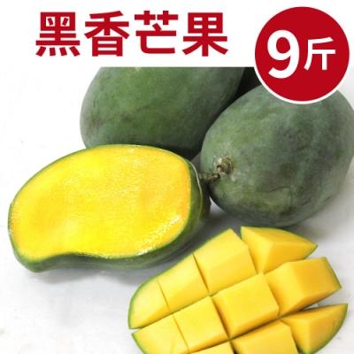 [甜露露]龍眼香!黑香芒果9斤入