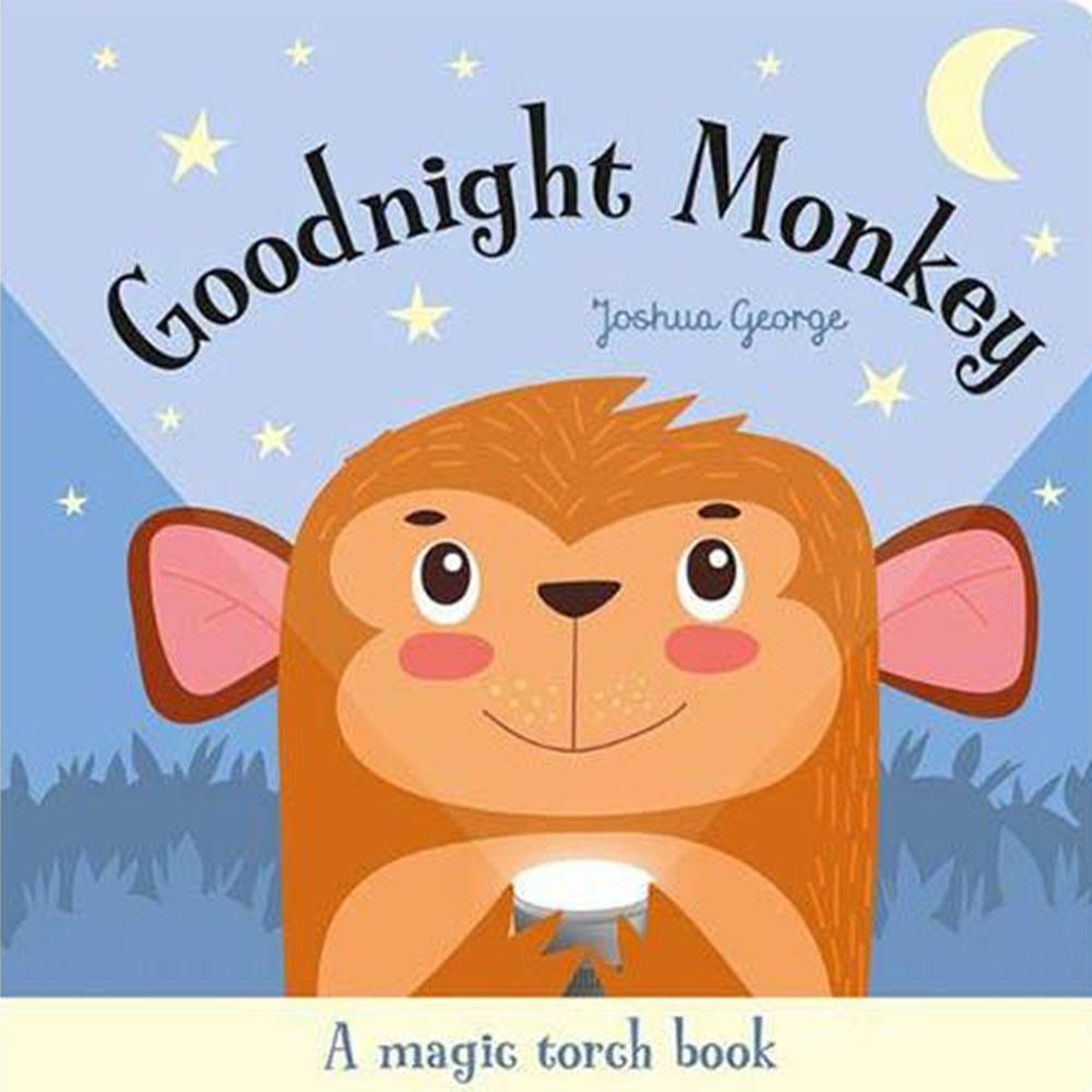 A Magic Torch Book:Goodnight Monkey 猴子說晚安趣味膠片書