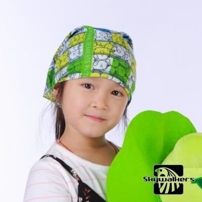 Skywalkers《動物電車》兒童魔術頭巾