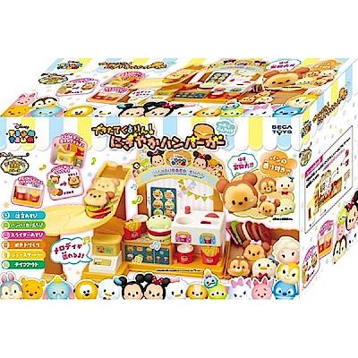 任選日本 迪士尼 TSUM TSUM 美味漢堡店 SG79895 SEGA TOYS公司