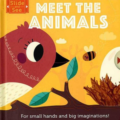 Slide And See:Meet The Animals 硬頁推拉書:認識動物篇