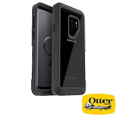 OtterBox Galaxy S9+探索者系列保護殼-清透黑