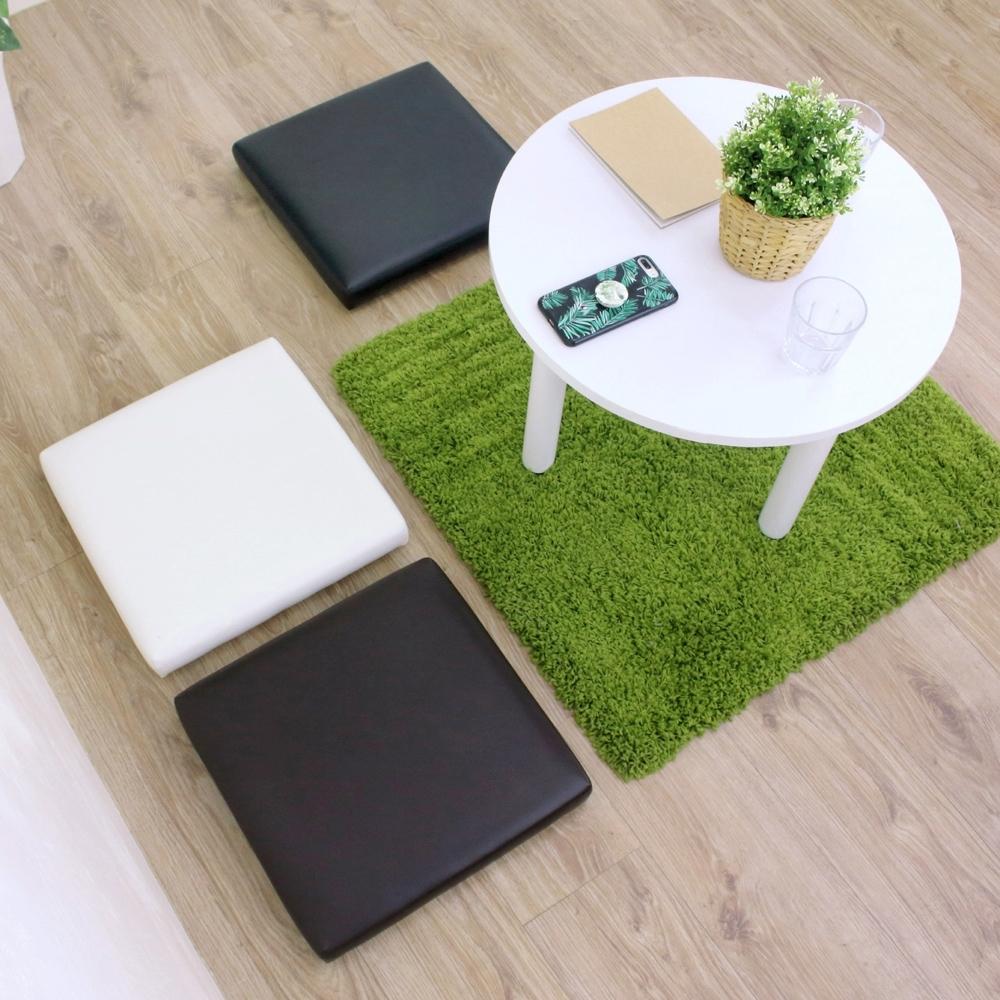 頂堅 寬42公分-厚型沙發(皮革椅面)和室坐墊/沙發坐墊/椅墊(三色可選)-2入組 product image 1
