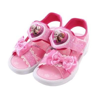 台灣製迪士尼冰雪奇緣閃燈涼鞋 sa94113 魔法Baby