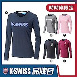 K-SWISS長袖T