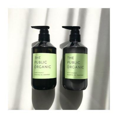 THE PUBLIC ORGANIC天然植粹精油洗潤組 – 滋潤蓬鬆
