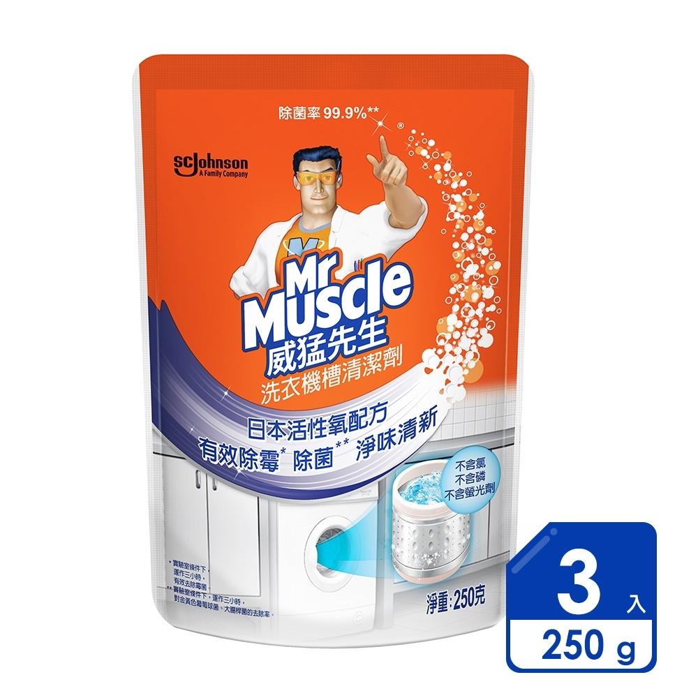 威猛先生 洗衣機槽清潔劑 250gx3入