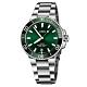 Oris 豪利時 Aquis 時間之海潛水300米日期機械錶-綠水鬼x銀/39mm product thumbnail 1