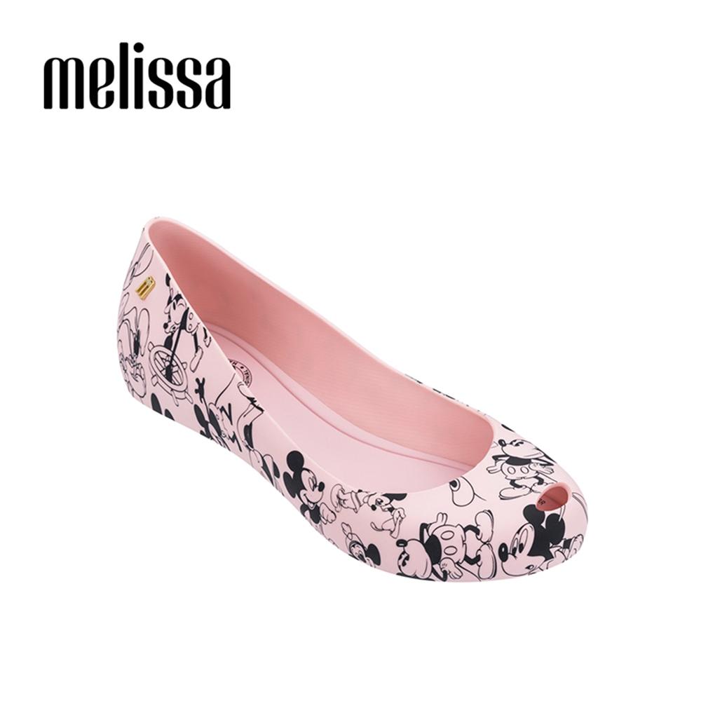 Melissa X Mickey 周年限定特別款娃娃鞋-粉色