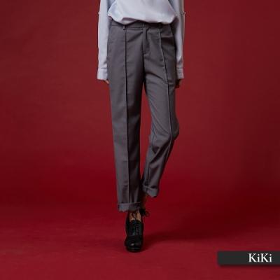 【KiKi】上班族必備西裝-長褲(二色)