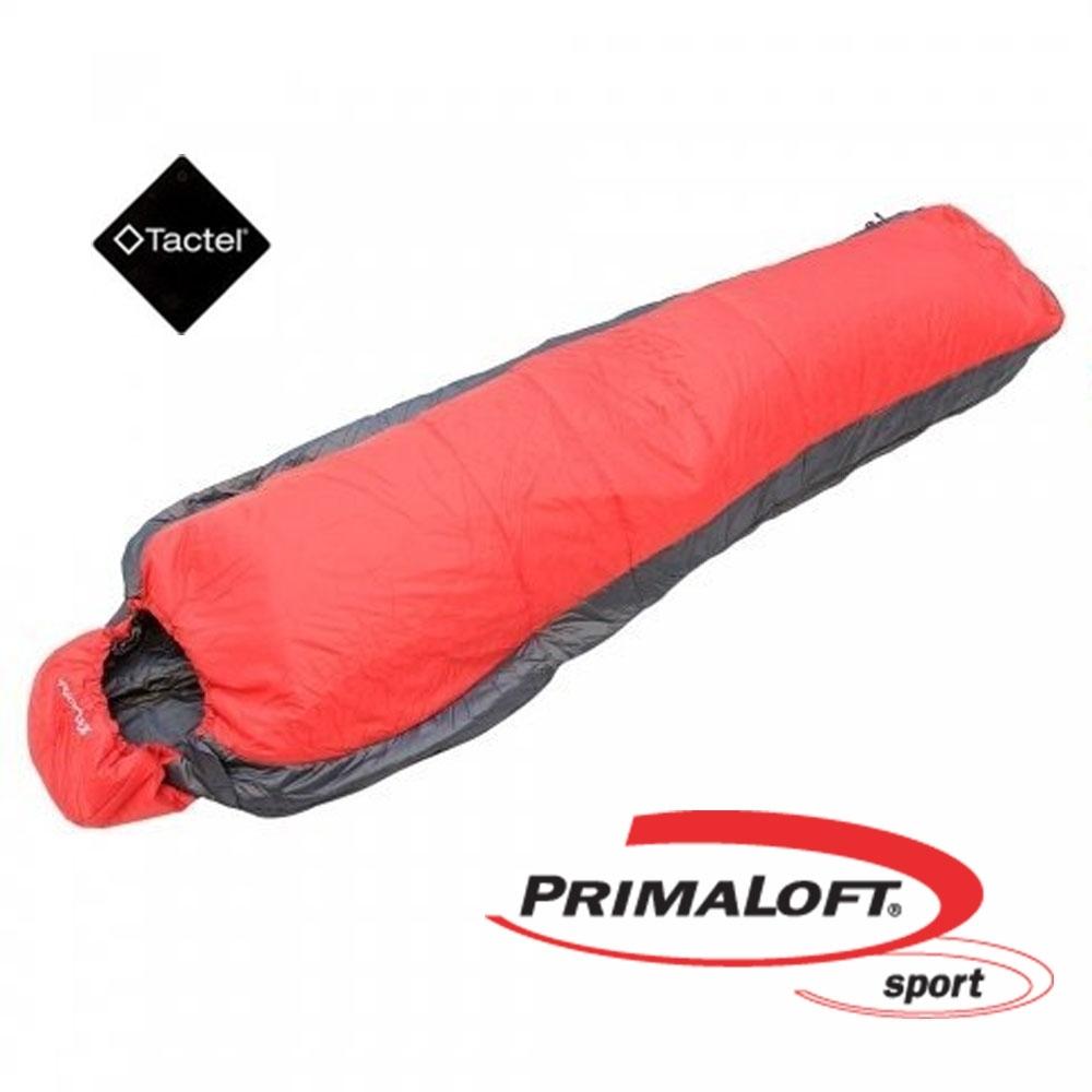 100mountain P-133 輕量 PrimaLoft 化纖保暖睡袋 紅