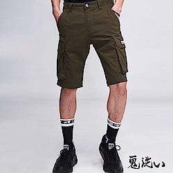 鬼洗 BLUE WAY 潮流鬼洗-ONIARAI吸濕快乾工作短褲(軍綠)