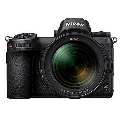 Nikon Z7 + Z 24-70mm f/4 S (公司貨)