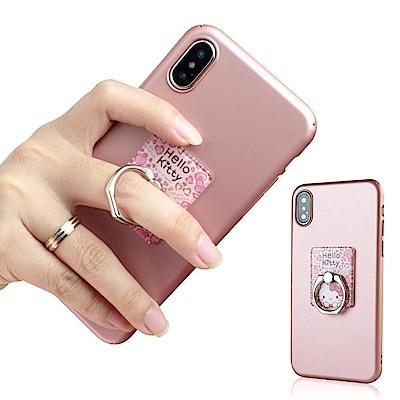 iStyle iPhone XSMax 6.5吋 HelloKitty 粉色魅力支架手機殼