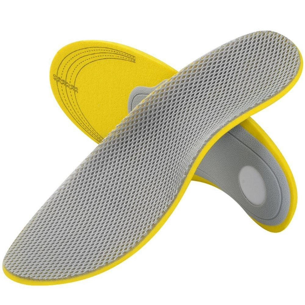 JHS杰恆社abe157網格足弓墊扁平足美型鞋墊內八字外八字美體鞋墊新款口口口