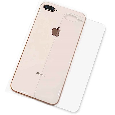 iPhone 8 Plus 5.5吋 抗污防指紋超顯影機身背膜 保護貼(2入)