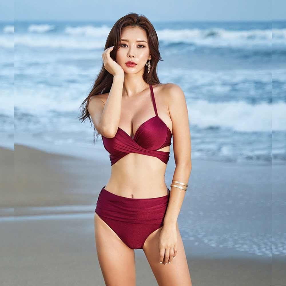 Biki比基尼妮泳衣,網美變化二件式泳衣泳裝比基尼M-2XL(多色款)